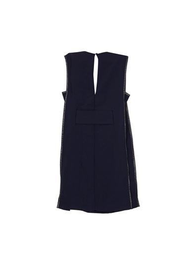 Paris Elbise Lacivert